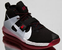 Nike Air Force Max II 2 Men's Black White Red Basketball Shoes Sport Sneakers