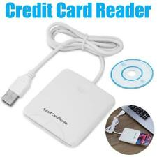 Smart Chip Card Credit Card Reader Magnetic Chip Stripe USB Contact Card Readers