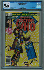 MARVEL PREMIERE #57 CGC 9.6 2ND HIGHEST GRADE 1ST DR. WHO W/MARVEL OW/W PGS 🔑