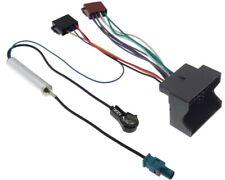 Radio Adapter Quadlock Iso Citroen Peugeot Radio Plug Fakra Aerial Adaptor