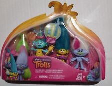 DreamWorks Trolls Wild Hair Pack Toy Gift Guy Diamond Fuzzbert Satin & Chenille
