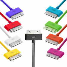 1M/2M/3MLONG CABLE USB Data Sync Charger Lead for iPhone 4 4S 3G iPad iPod