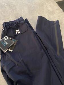 Footjoy Hydrolite v2 Golf Rain Trousers, Waterproofs New With Tags.