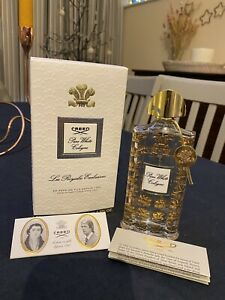 Empty Creed Royal Exclusives Pure White Cologne Bottle