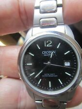 Gents Croton Quartz Watch 5ATM 150 Ft Water Resistant
