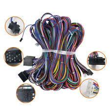 Car Extension 6M Cable Kit Fit For BMW E46 E39 E53 BM24 Radio Wiring Harnesses