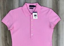 POLO RALPH LAUREN POLO SHIRT Womens Skinny Fit Stretch Mesh ALL SIZES