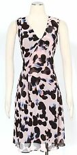 Rachel Roy Peach Blossom Dress Size 2 Casual Surplice Sheath Women's New*