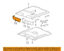 Saturn GM OEM 2000 LS2 Roof-Sunvisor Sun Visor Left 90440495
