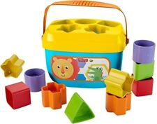 Fisher Price Brilliant Basics Baby's First Blocks Shapes Sorter Learning Toy New