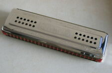 "VTG German ""OLYMPIA"" harmonica double sided keys ""C"" & ""G"" harp VG++"