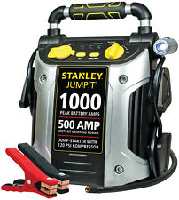 Battery Jump Starter Air Compressor  Portable Car Charger Booster Stanley 1000