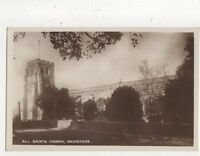 All Saints Church Maidstone Vintage RP Postcard 736a