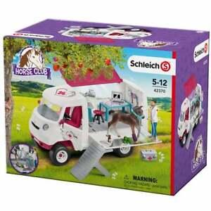 Schleich Horse Club Mobile Vet Horsebox Van with Hanoverian Foal Figure