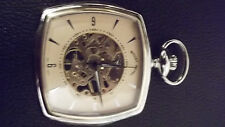 Open Face Pocket Skeleton Watches
