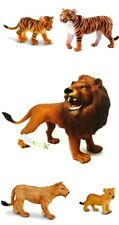 New CollectA Big Cats Collection Lion Tiger Cub Toy Model Figures