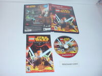 LEGO STAR WARS: THE VIDEO GAME complete in case w/ manual Sony Playstation 2 PS2