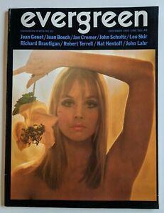 Evergreen Review Magazine December 1968 Vol 12 No 61 Jean Genet