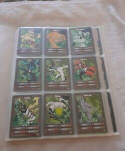 Joblot Of Ben 10 Alien Adventures Cards With Folder