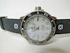 Deep Blue Master 1000 II Automatic Dive Watch White Dial