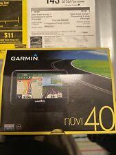 Garmin nuvi 40 Automotive Gps Receiver 4.3' display