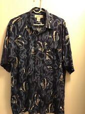 Mens Natural Issue Shirt Large Fish