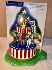 Department 56 Merrily Go Round Carousel Snow Village Collection 55183