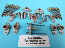 #8-36 Fiberlock Nutplate AN366F836A (10) + Install Kit Race Aircraft