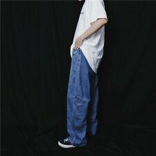 Herren Hosen Jeans Locker Hip Hop Baggy Rap Skateboard Retro Mode