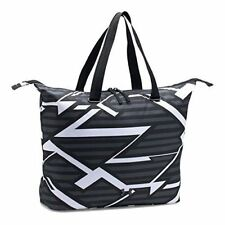 Under Armour Women's On The Run Tote Gym Bag Casual Sports Handbag Black/White
