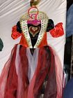 Queen of Hearts Girl Halloween Costume full-lenth Size 4-6 toddler