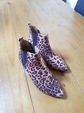 Botas Chelsea Estampado de Leopardo 6
