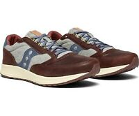 Saucony Men's Freedom Runner Casual Sneakers in Brown/Grey/Blue, S70421-1