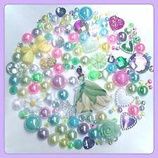 Disney Tiana Grenouille Princesse Thème Cabochon Pierres Précieuses et Perles Flatbacks pour Crafts #2