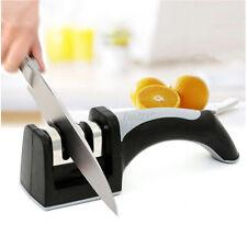 Afilador de Cuchillos Manual Profesional Antideslizante 2 Modos Mango Ergonómico