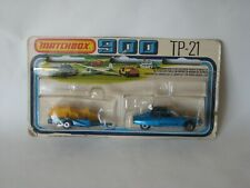 Lesney Matchbox Citroen SM and Bikes RARE Twin Pack TP-21 Superfast MB-51