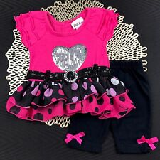 Infant Baby Girl Clothes Size 3-6 Months Spring Summer Mixed Outfit Set