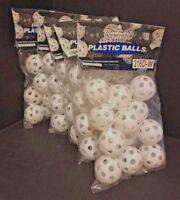 5 Packs Markwort Plastic Golf Balls (1 Doz Per Pack) NEW