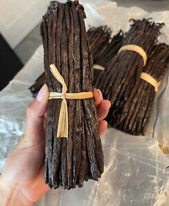 50 Gousses Vanille Bourbon de Madagascar 16-18cm - 200 grammes