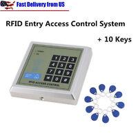 Security RFID Proximity Entry Door Lock Access Control System 500 User+10 Key HL