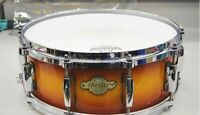 PEARL wooden snare MASTERS SST ALL MAPLE SHELL #c0465