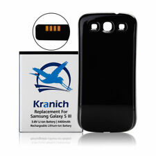 Kranich 4400mAh Ersatz Batterie Akku für Samsung Galaxy S3 i9300 + Deckel + NFC