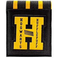 Official Harry Potter Hogwarts Hufflepuff Striped Yellow Wallet *SECOND*