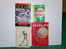 Ben Hogan Golf Instructional Books 4 - Books