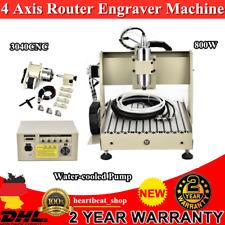 4 Achse CNC Router Graviermaschine 3040 Fräse Graveur Fräsmaschine Wood Engraver