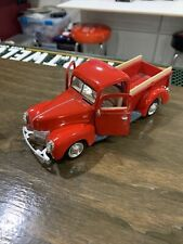 Diecast -1/24 1940 Ford Pickup Truck No 68062 Red