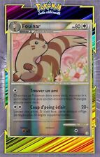 Fouinar Reverse-HS01:HeartGold SoulSilver-21/123-Carte Pokemon Neuve Française