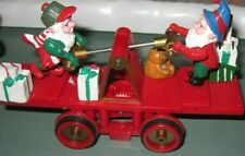 Dept. 56 North Pole Loading the Sleigh Accessories *Pump Car plus A Busy Elf*