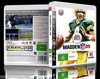 (PS3) Madden NFL 09 / 2009 (G) (Sports: Gridiron/American Football) Guaranteed