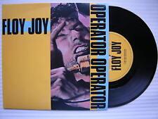 "Floy Joy - Operator / Mission, Virgin VS-744 Ex+ Condition 7"" Single"